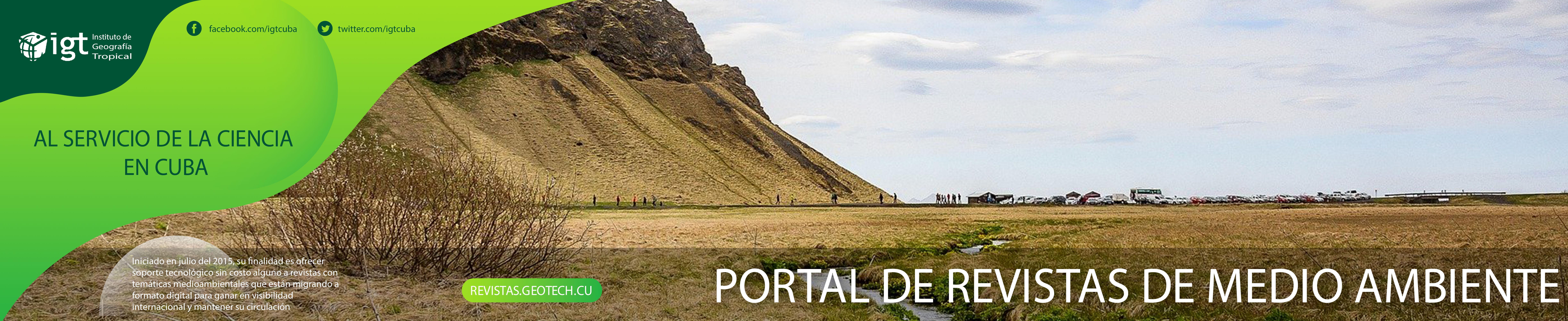 Portal de Revistas del Medio Ambiente en Cuba
